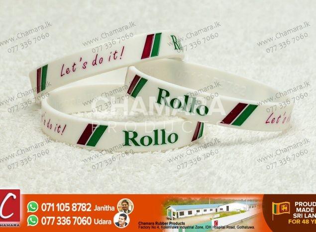 rubber wrist bands