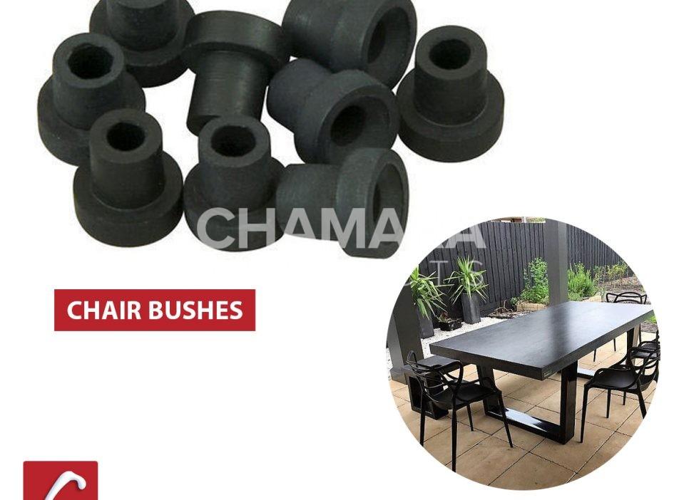 Furniture rubber bush